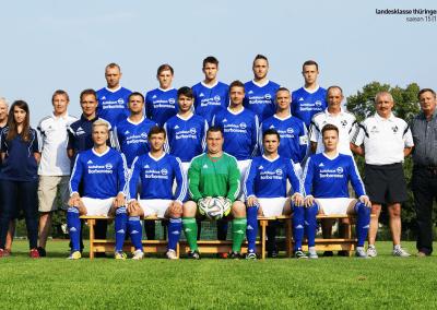 1. Mannschaft Saison 2015/16