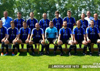 1. Mannschaft Saison 2014/15