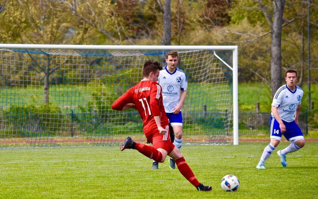 SV Blau-Weiß 91 Bad Frankenhausen – FSV Sömmerda 0:3 (0:2)