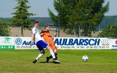 BSV Eintracht Sondershausen – SV Blau-Weiß 91 Bad Frankenhausen 2:1 (0:1)