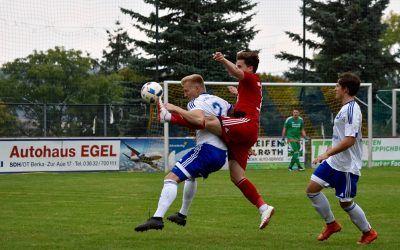 BSV Eintracht Sondershausen – SV Blau-Weiß 91 Bad Frankenhausen 3:1 (1:1)