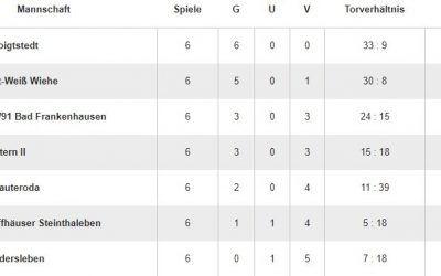 D-Junioren: FC Kyffhäuser Steinthaleben – SV Blau-Weiß 91 Bad Frankenhausen 0:4 (0:2)