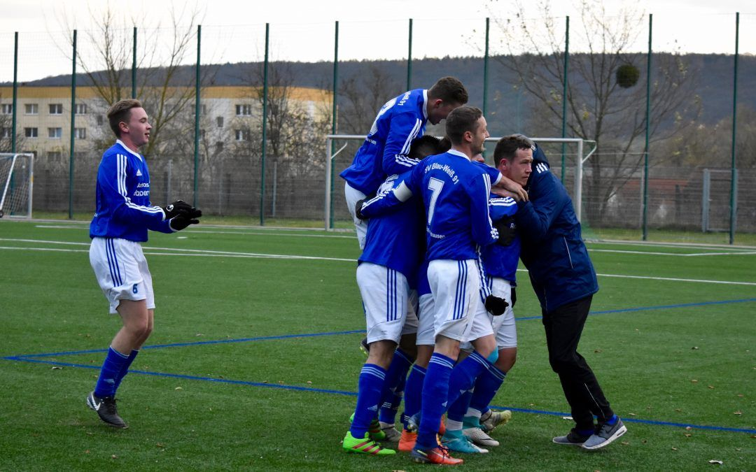 SV Blau-Weiß 91 Bad Frankenhausen – SG SV Fortuna 49 Körner 2:1 (0:0)