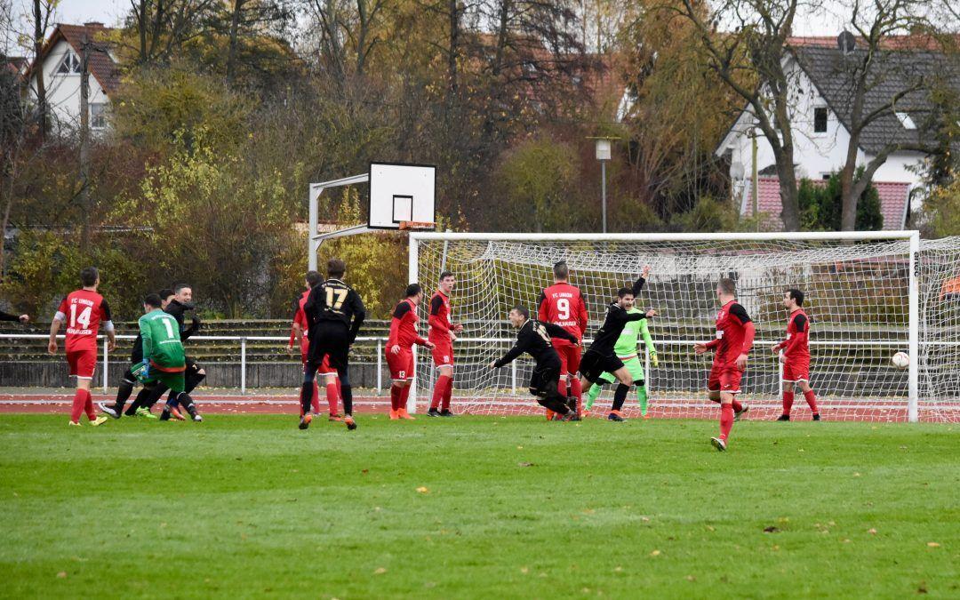 FC Union Mühlhausen – SV Blau-Weiß 91 Bad Frankenhausen 1:1 (1:0)