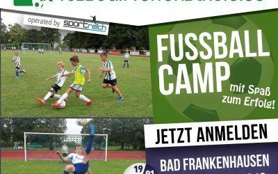 Fußball Feriencamp 02.07-06.07.2018 in Bad Frankenhausen