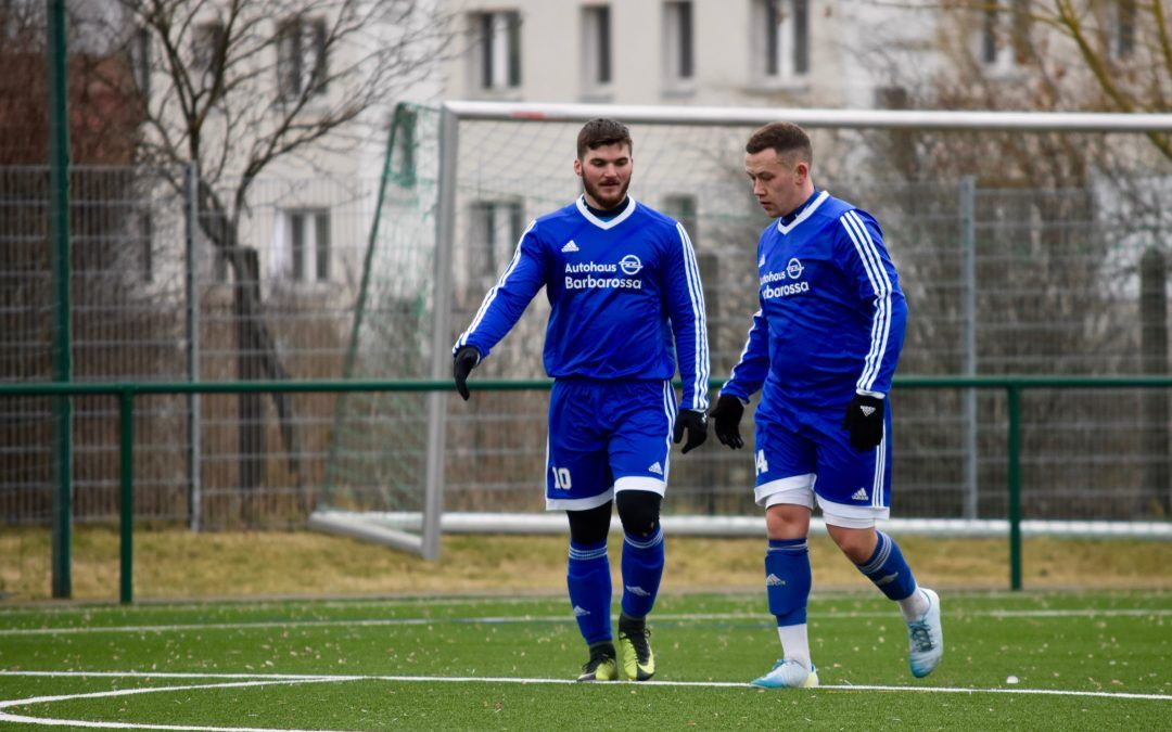 Testspiel: SV Blau-Weiß 91 Bad Frankenhausen – SV Romonta 90 Stedten 5:1 (3:0)