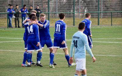 SV Blau-Weiß 91 Bad Frankenhausen – SV Blau-Weiß Büßleben 4:4 (2:2)