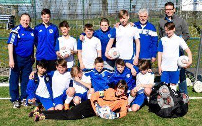 D-Junioren: SV Blau-Weiß 91 Bad Frankenhausen – SV Rot-Weiß Wiehe 8:1 (3:1)