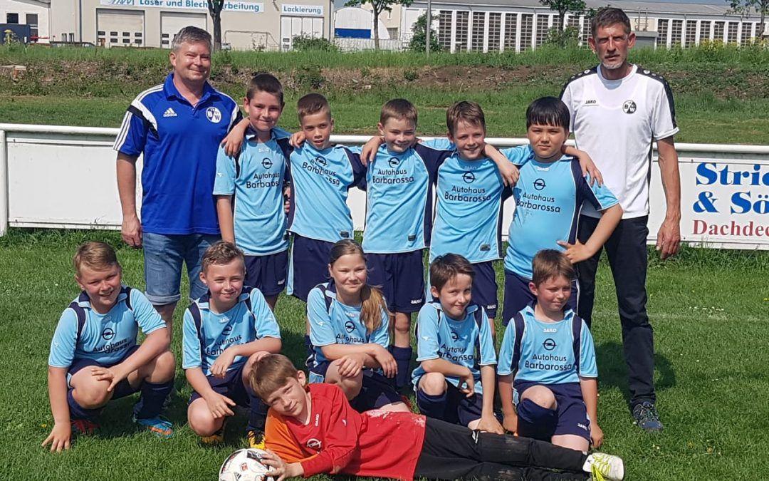 E-Junioren: VfL 1800 Ebeleben – SV Blau-Weiß 91 Bad Frankenhausen II 0:12 (0:7)