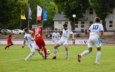 SV Blau-Weiß 91 Bad Frankenhausen – FC Union Mühlhausen 1:4 (1:1)