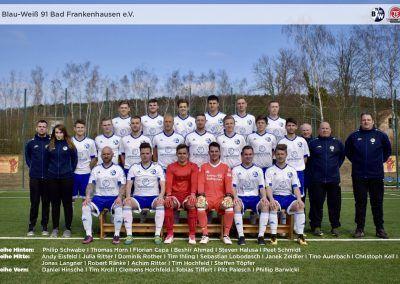 1. Mannschaft Saison 2017/18
