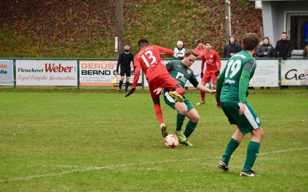 SV Grün-Weiß Siemerode – SV Blau Weiß 91 Bad Frankenhausen 8:0 (3:0)