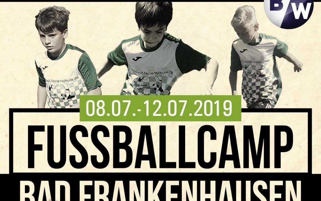 Fußball Feriencamp 08.07-12.07.2019 in Bad Frankenhausen