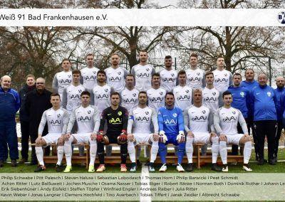 1. Mannschaft Saison 2018/19
