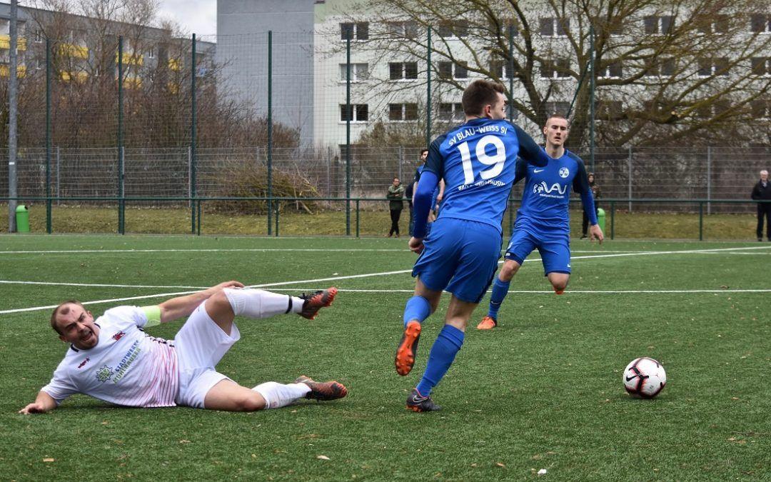 SV Blau-Weiß 91 Bad Frankenhausen – FC Union Mühlhausen 3:1 (0:1)