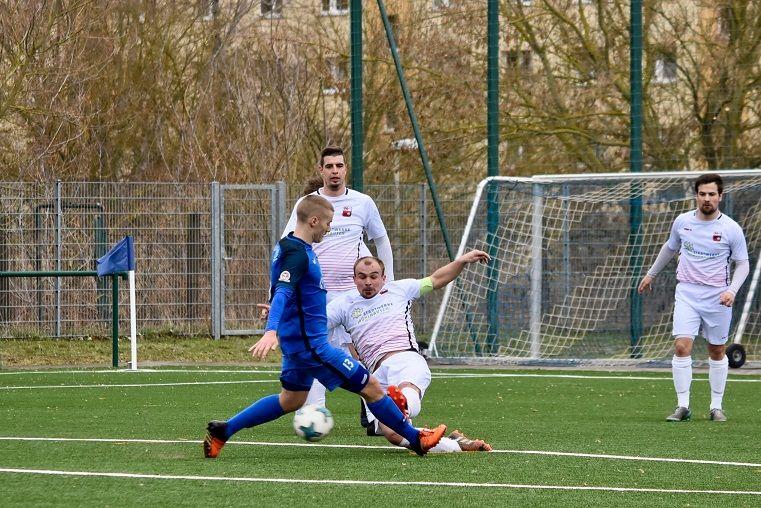 Tobias Tiffert hielt gegen den FC Union Mühlhausen den Sieg fest.