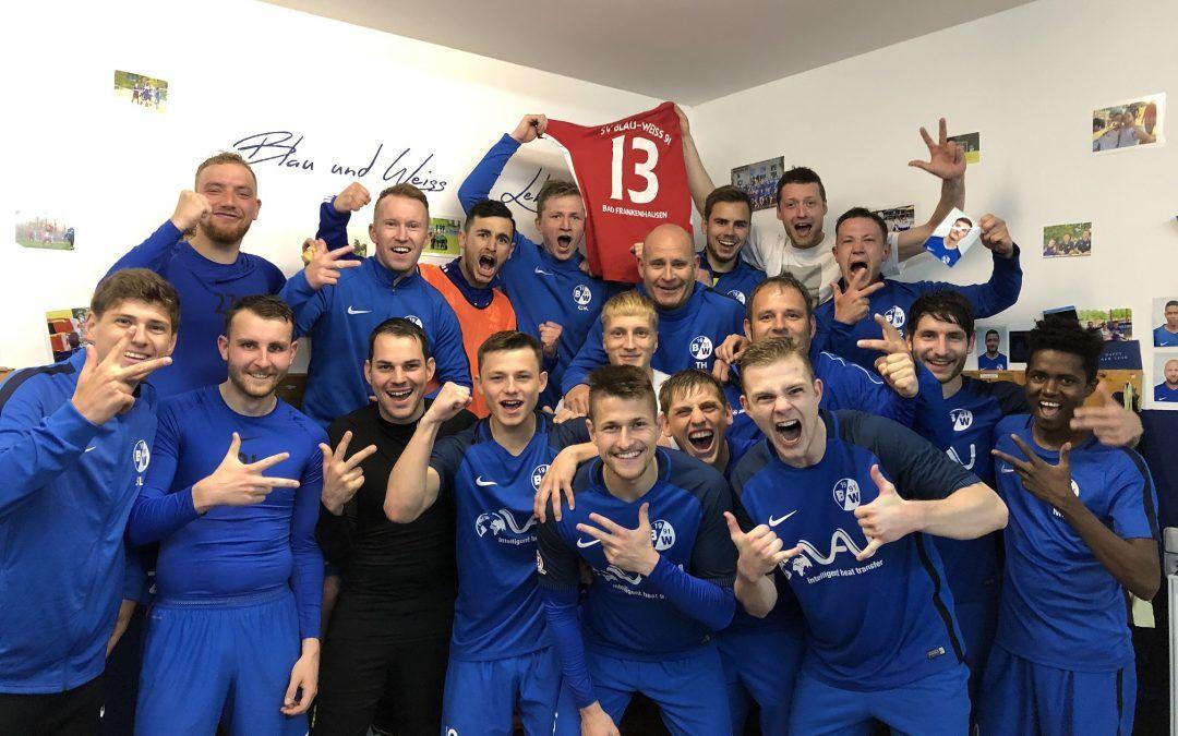 SV Blau-Weiß 91 Bad Frankenhausen – FC Erfurt Nord 2:0 (2:0)