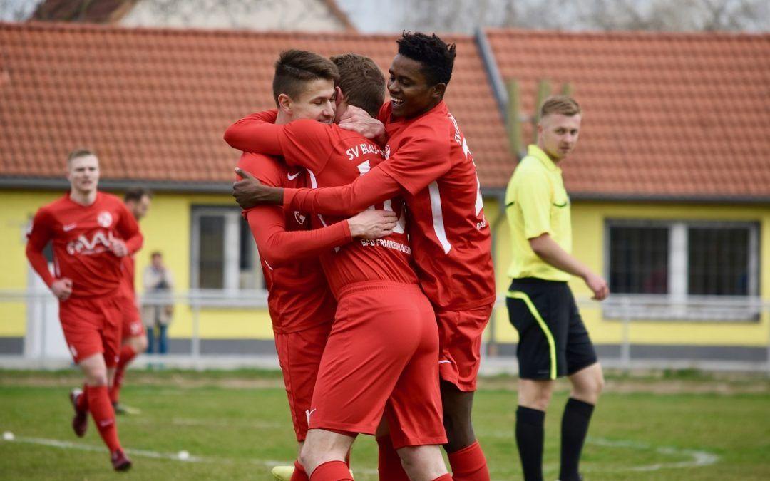 FSV 06 Kölleda – SV Blau-Weiß 91 Bad Frankenhausen 0:3 (1:6)