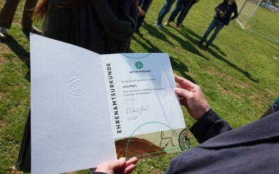 Auszeichnung des DFB für Julia Ritter