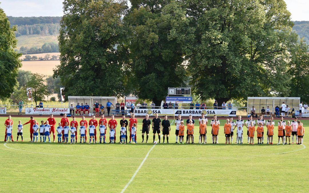SV Blau-Weiß 91 Bad Frankenhausen – FSV Preußen Bad Langensalza 1:1 (1:0)
