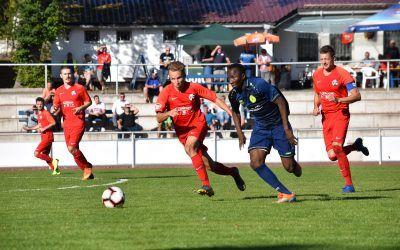 SV Blau-Weiß 91 Bad Frankenhausen – SV Eintracht Eisenberg 2:3 (2:1)