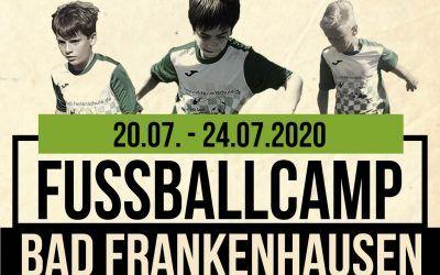 Fußballcamp 2020 in Bad Frankenhausen