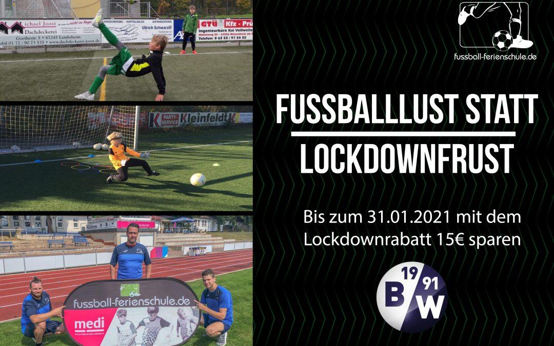 Fußball-Ferienschule in Bad Frankenhausen