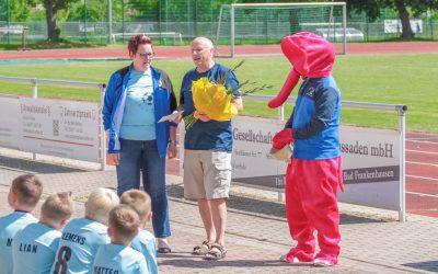 Zeh Jahre Fußball-Ferienschule in Bad Frankenhausen
