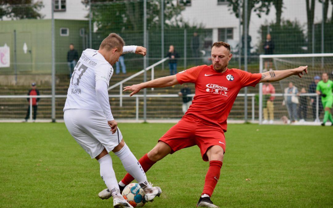 FC Erfurt Nord – SV Blau-Weiß 91 Bad Frankenhausen 2:2 (1:0)